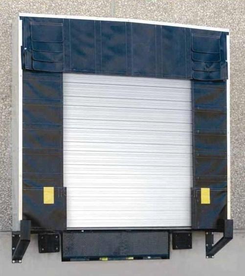 Rigid Truck Shelter Picture & Loading Dock Door Shelters - Loading Dock Pros LLC
